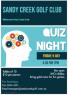 Quiz Night – Friday 9 July